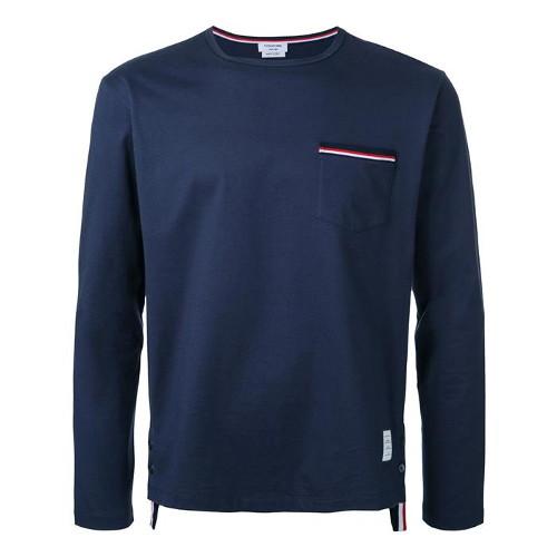 톰브라운 20SS 삼선 포켓 긴팔 티셔츠 MJS022A 01454 415