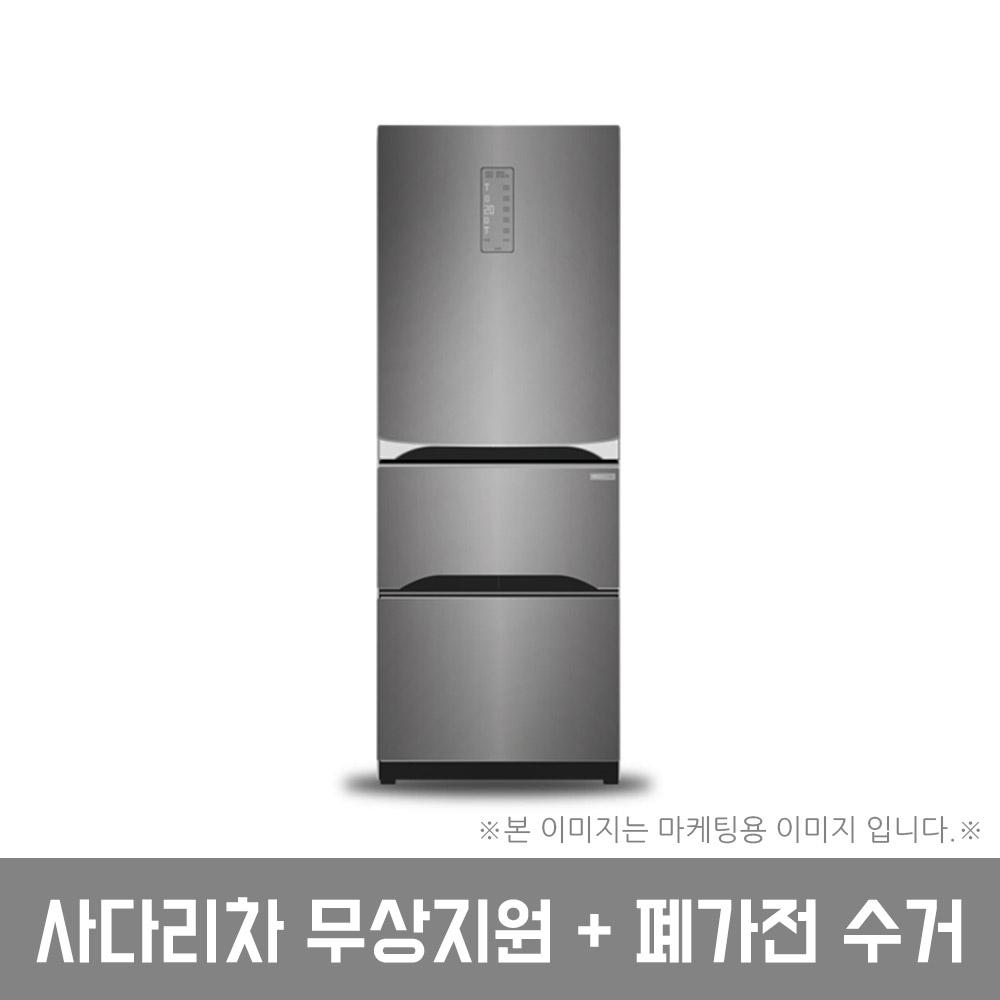LG전자 트윈스 디오스 김치톡톡 김치냉장고 K334S11 327L 스탠드형