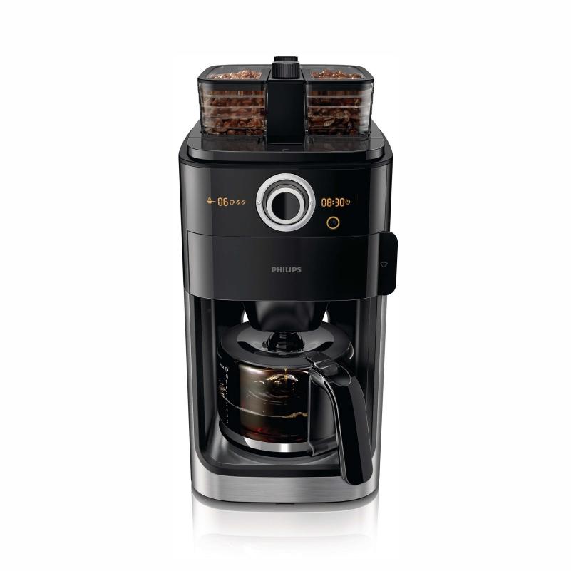 필립스 드립식 커피메이커 1.2L 원두커피머신&기계 가정용 사무실용, 1.2L 원두커피머신/커피메이커