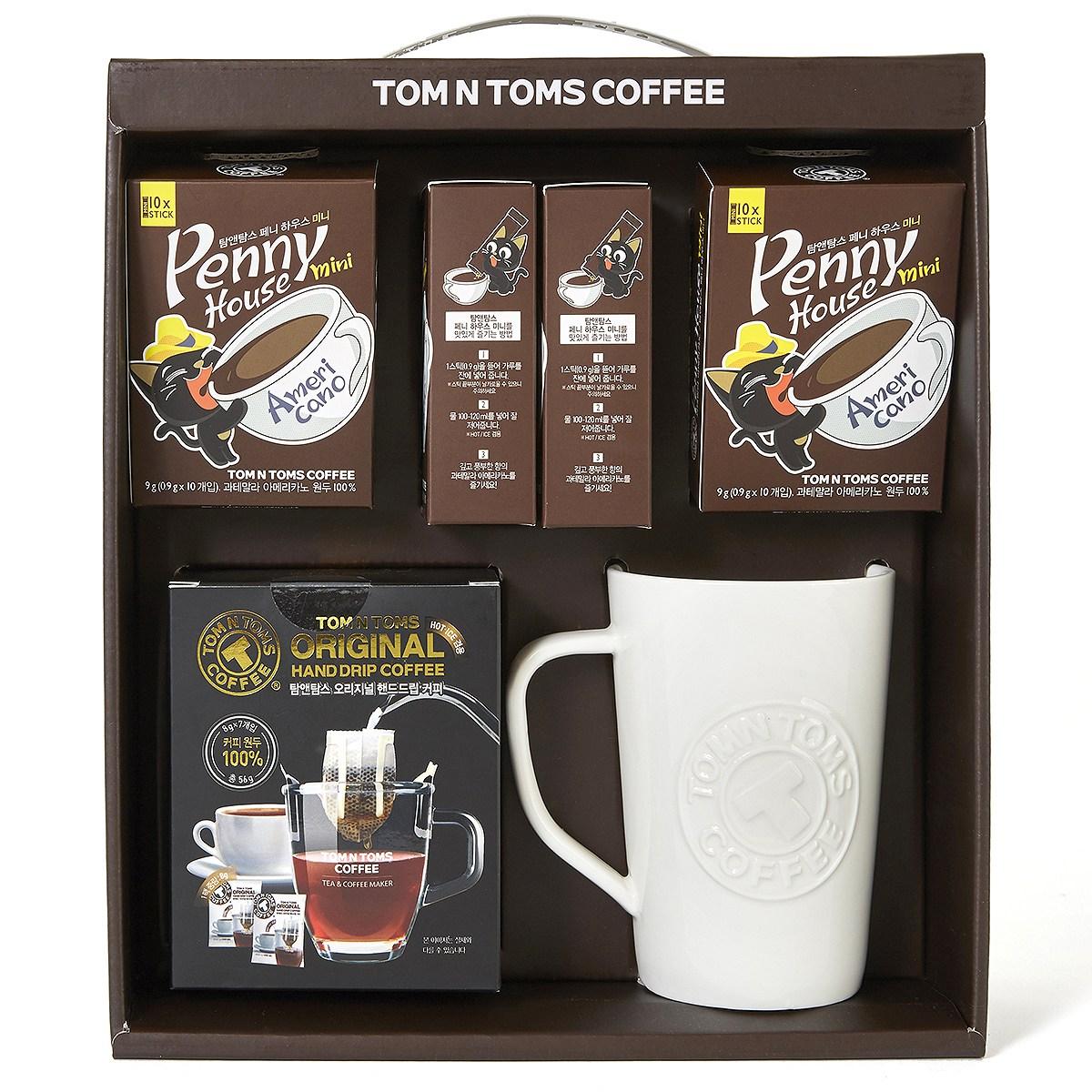 탐앤탐스 커피 선물세트 x 6세트, 드립 커피외2종