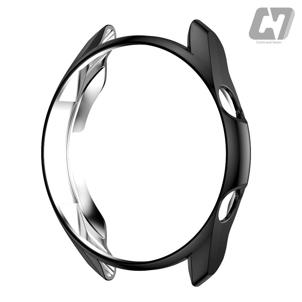 쵸미앤세븐 갤럭시워치3 범퍼케이스, 1개, 갤럭시워치3 범퍼케이스 (45mm) 블랙