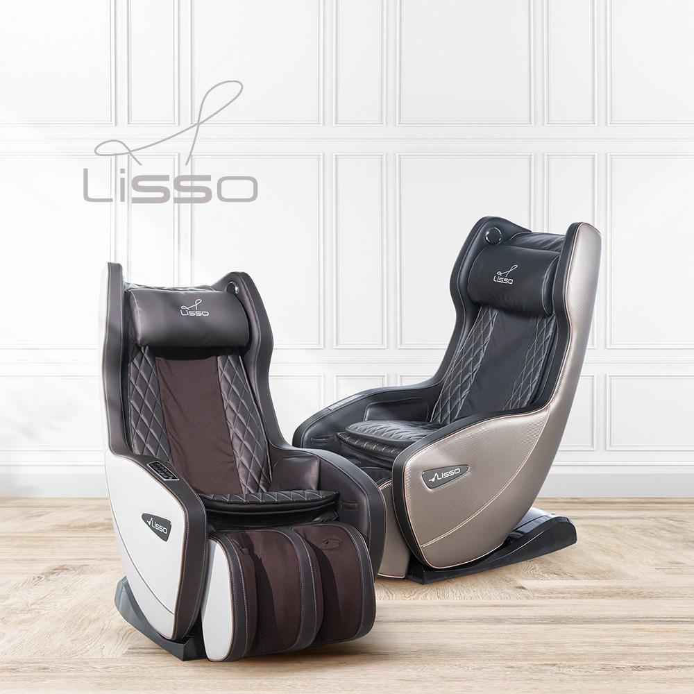 리쏘 [새상품] LS-3100S 티파니2 미니 안마의자 입체 LS프레임, 화이트