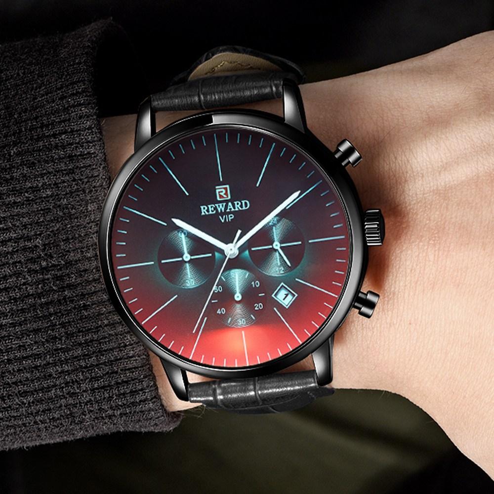 바바존 남자 시계 변색유리 정품패키지 증정 손목시계 남자손목시계 남성손목시계 남성시계 RD 2004