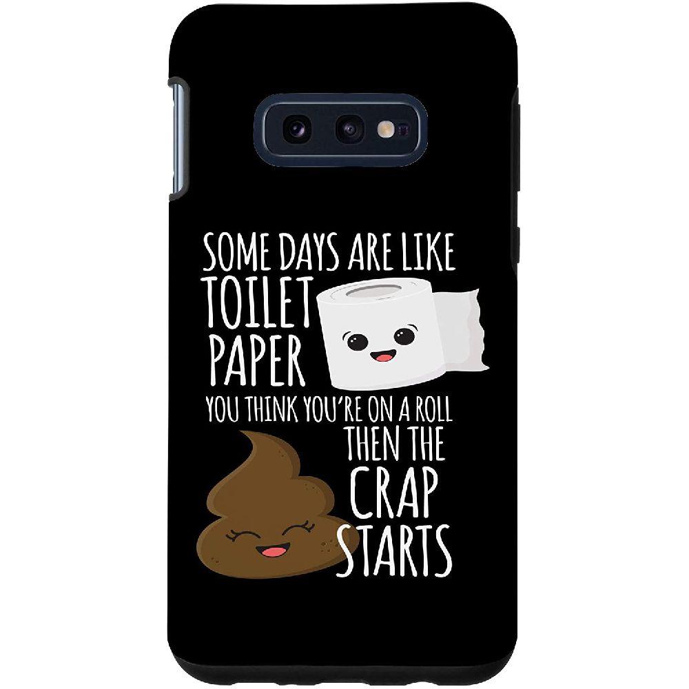 Toilet Paper Pun Funny Tp Quote Kawaii Designs 갤럭시 S10E 화장지 장난 재미 Tp 견적 가와이이 케이스, 상세페이지참조, Galaxy S10e