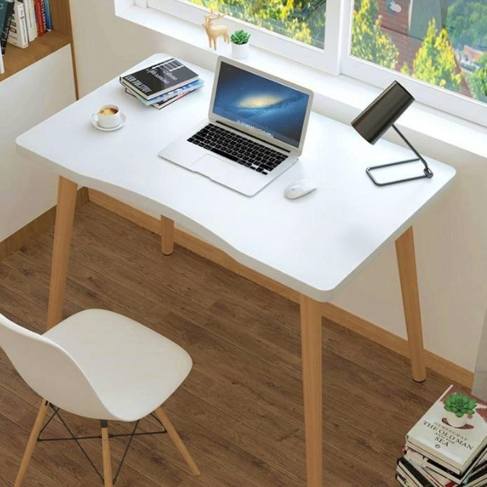이케아 책상 책상겸테이블 중 고등학생 1인용 책상, (70x40x75)CM, 화이트