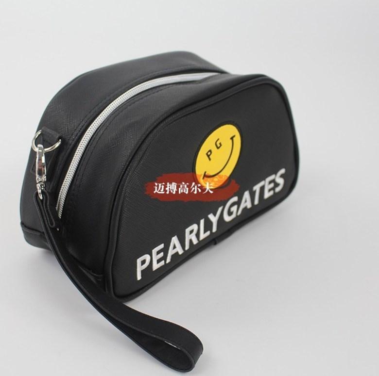 파리게이츠 볼 파우치 주머니 pg 골프 클러치 가방 여성 핸드백 악세사리 필드 패션 휴대용, 검정