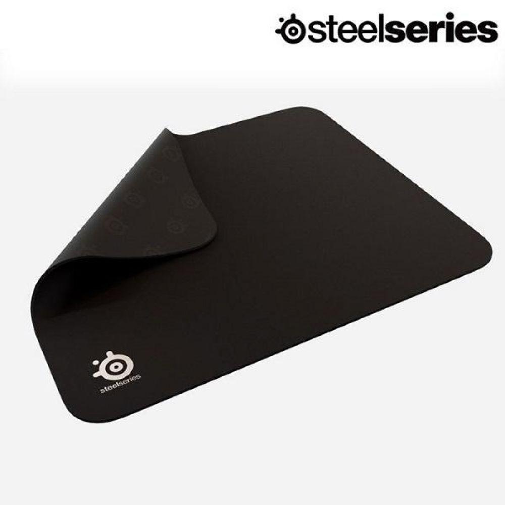 스틸시리즈 마우스패드 Qck 컴스빌정품 블랙, 단일색상