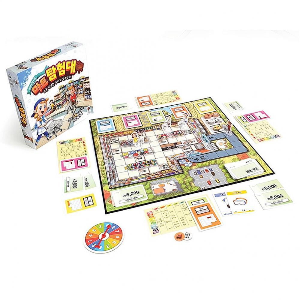 정배마트 초등 학생 어린이 보드 게임 마트탐험대 어린이게임 할리갈리 순발력