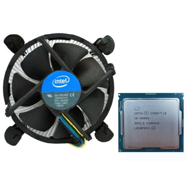 인텔 코어 i9-9세대 9900K (커피레이크-R) 벌크 + 쿨러, 단일상품