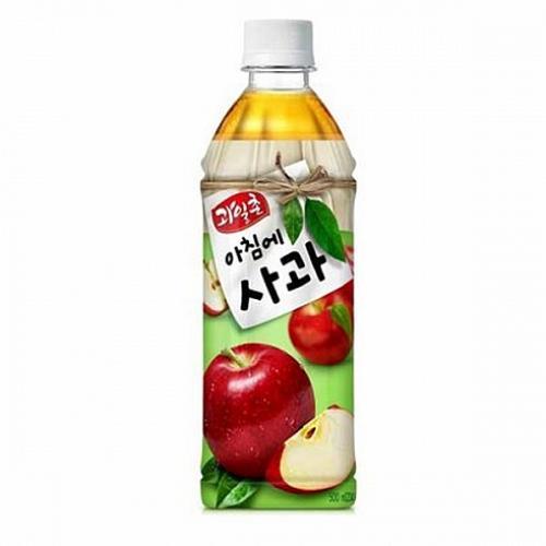 채은마켓 과일촌 아침에 사과 500mlx24펫 사과주스, 1
