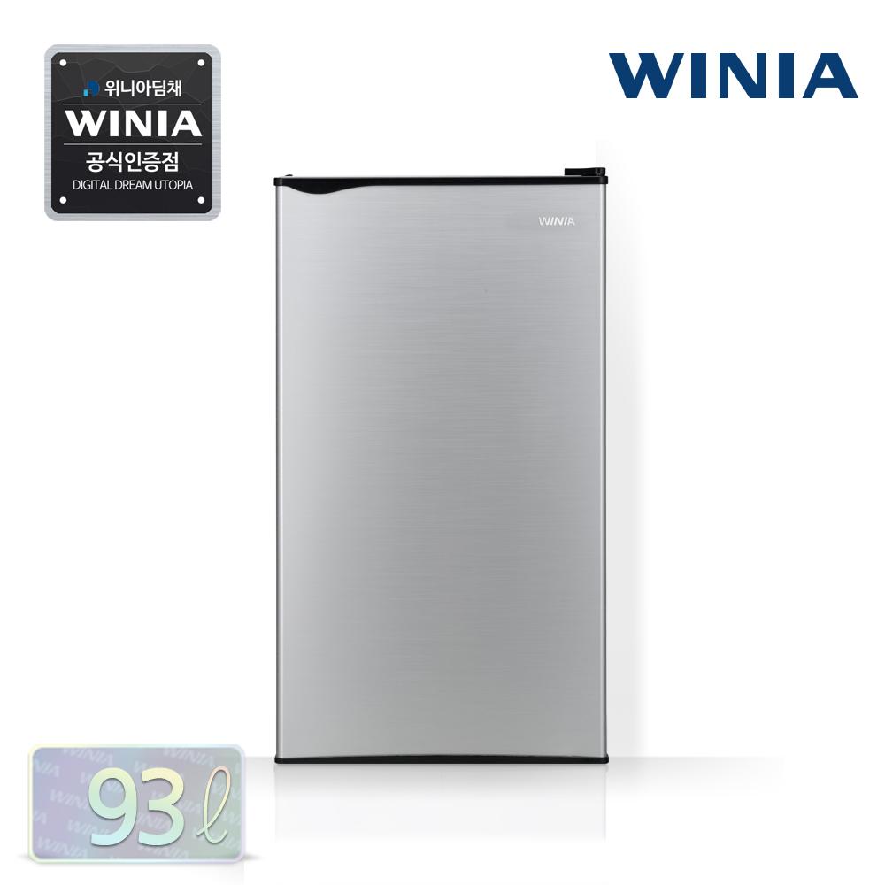 위니아 소형냉장고, 02 ERR093BS 실버/93L/1도어