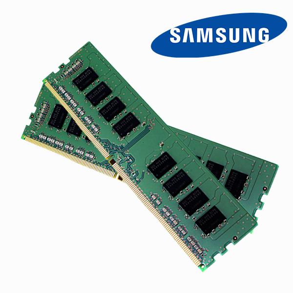 삼성 데스크탑메모리 DDR4 4GB PC4-19200 2400T, DDR4 4GB 19200 2400T 단면