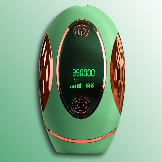 MOLY 전자동 전문 레이저제모기J2289, 그린