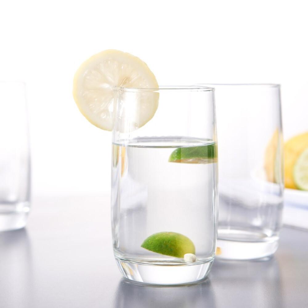 Luminarc 로 미 아 포도 밭 직 체 컵 유리컵 음료수 6 개 세트 290 ml (고가), 상세페이지 참조