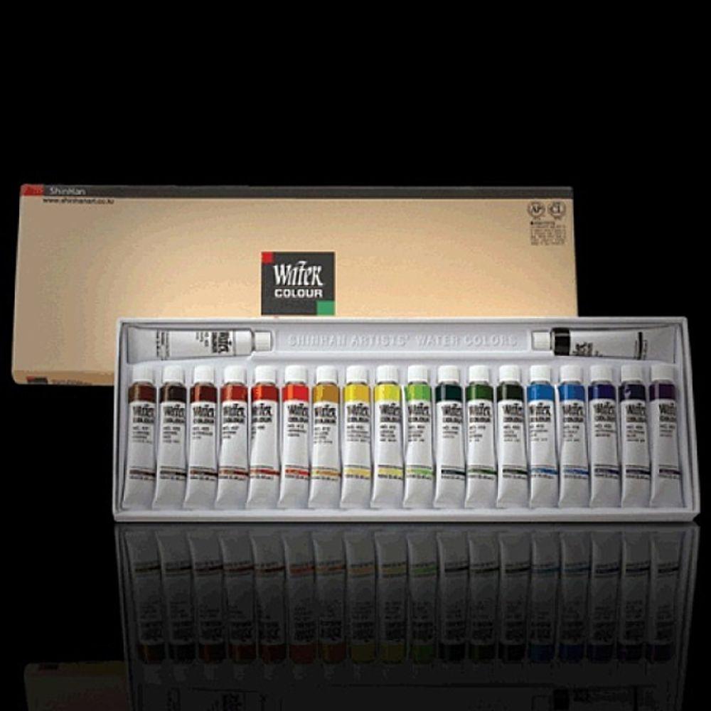 베카99_신한 20색 물감 전문가용물감 신한수채화물감 전문가용수채화물감 수채화용물감 미술물감+fhowoi, ○⊙완벽한선택, ○⊙완벽한선택