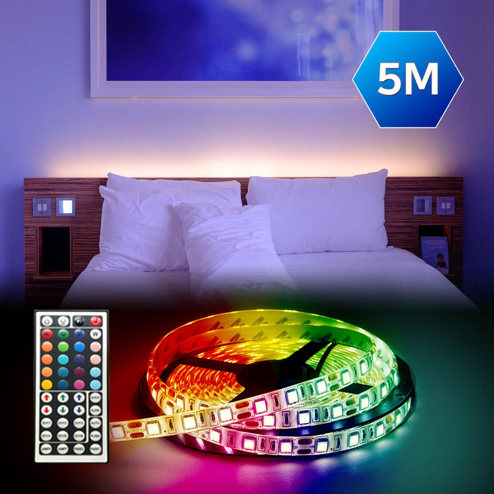 그린맥스 슬림LED바 B세트(RGB)-아답터 포함 *플렉시블 LED바 간접조명, B세트 (5050-비방수) RGB, 1개