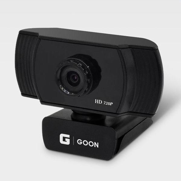 프리미엄 얼굴인식기능 내장마이크 pc 웹캠 수업용 HD 캠, 블랙, HD720P 화상카메라