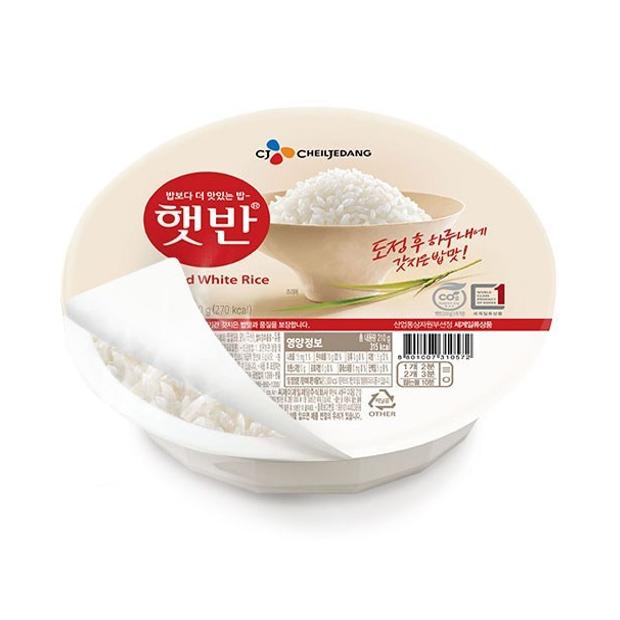 CJ제일제당 햇반 즉석 백미밥 180g × 24개, 단품