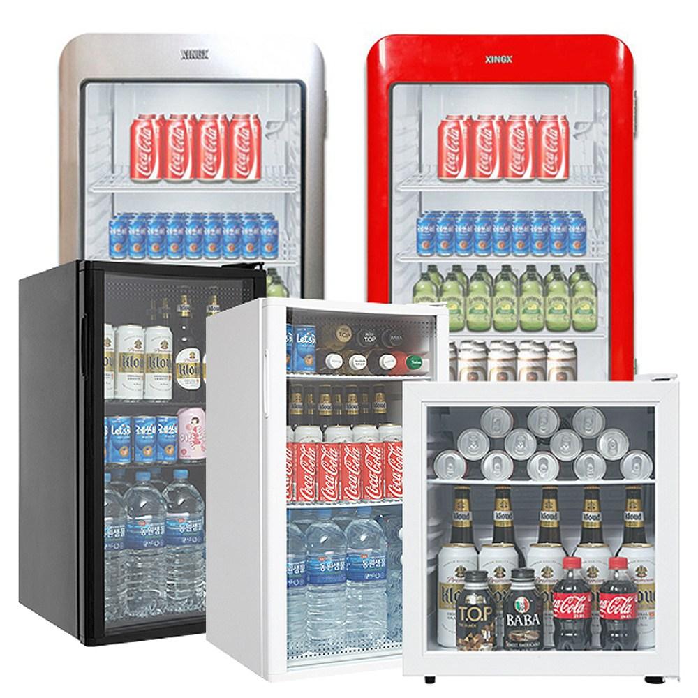 씽씽코리아 소형 음료수냉장고 미니 냉장쇼케이스 음료쇼케이스 LSC-60 LSC-92 XLS-76 XLS-106, LSC-60(화이트) (POP 4327025639)
