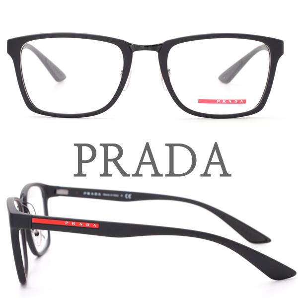프라다 정품 VPS06L DG0-1O1 프라다스포츠 블랙 안경테