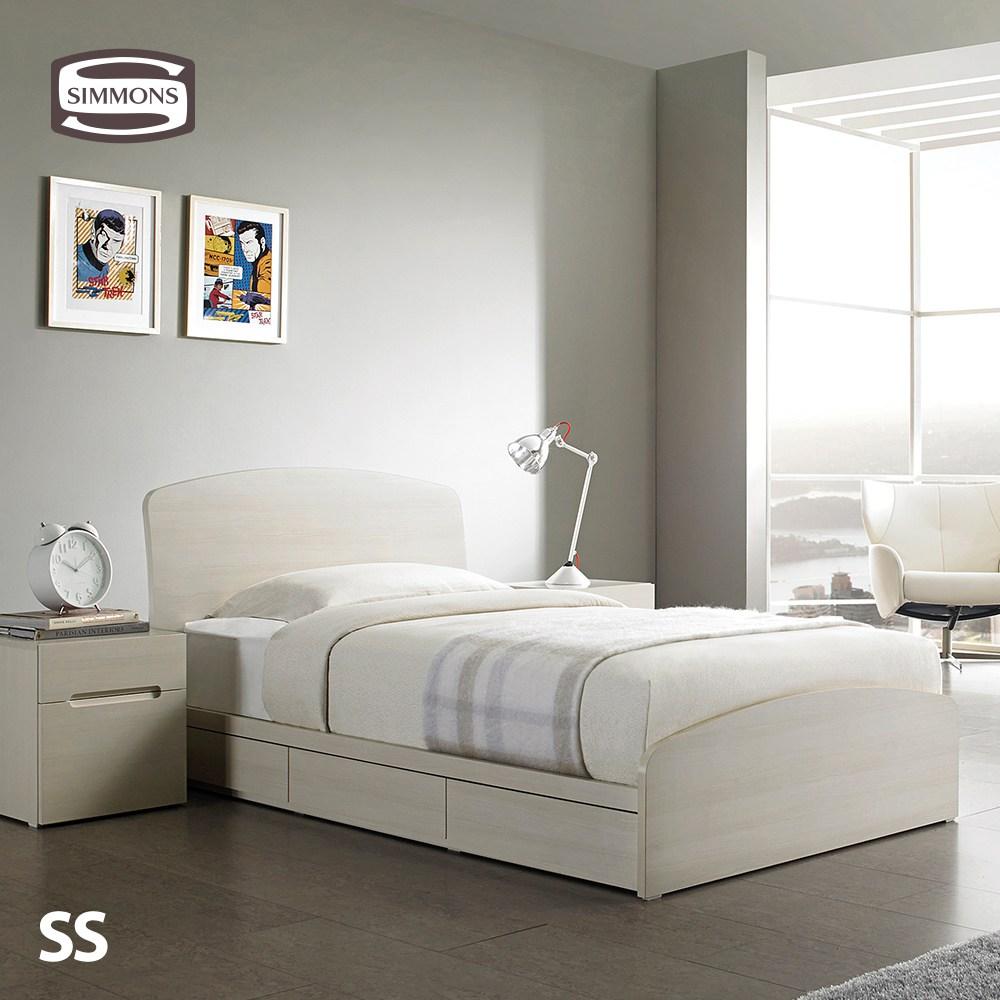 S1007C. 뷰티레스트 스위트. 슈퍼싱글 침대, 노체화이트