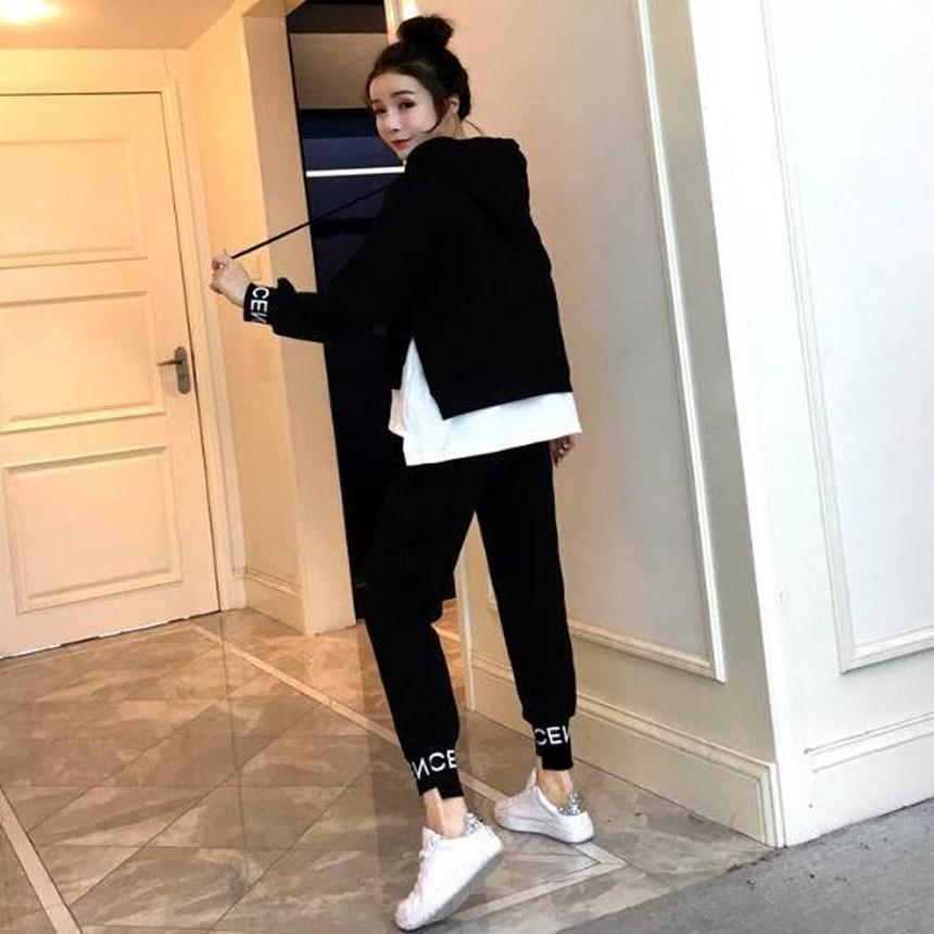 디에프 여자 여성 프로 레이어드 트레이닝 세트 패션 트레이닝복 공항룩