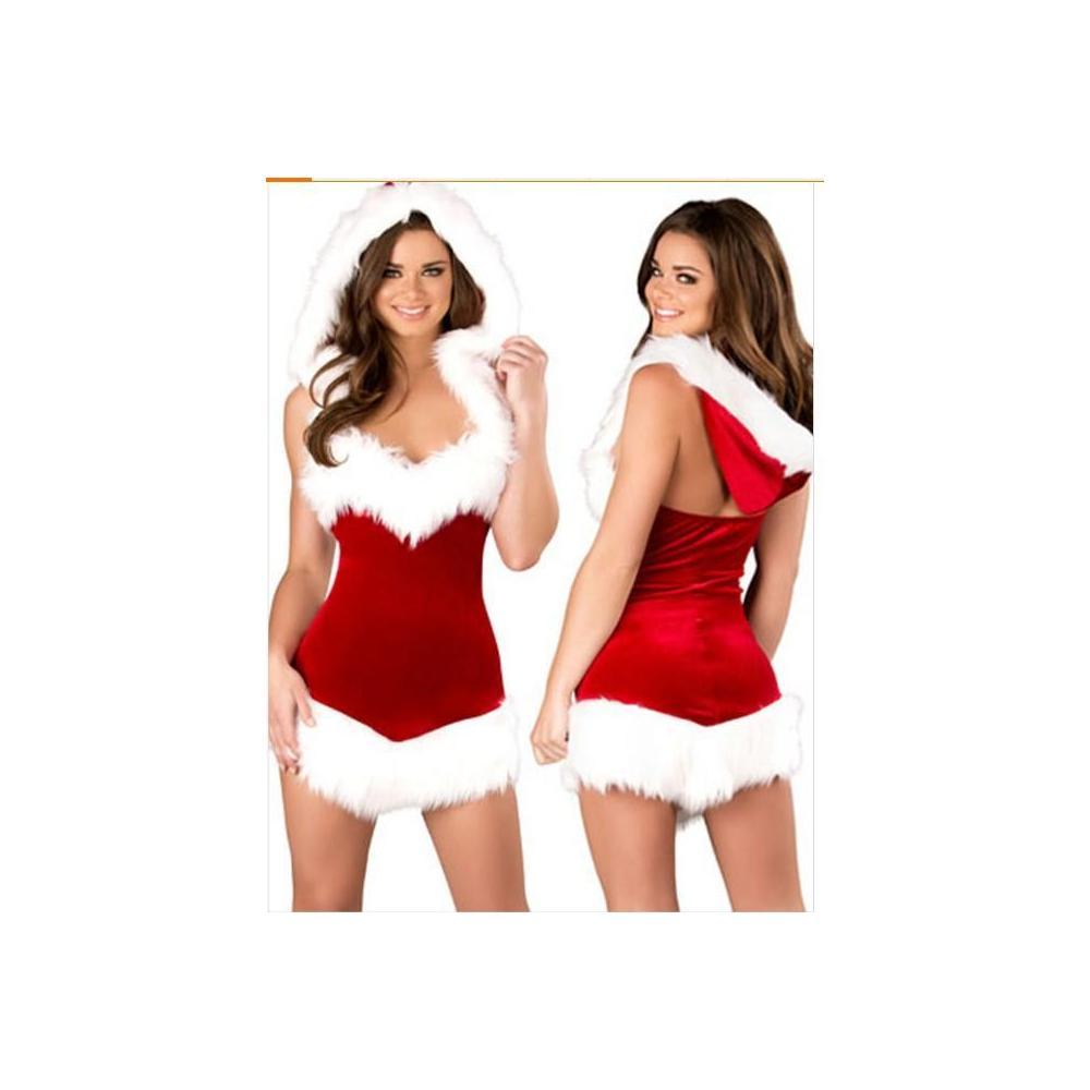 크리스마스 산타복 코스튬크리스마스 의류 산타 여자