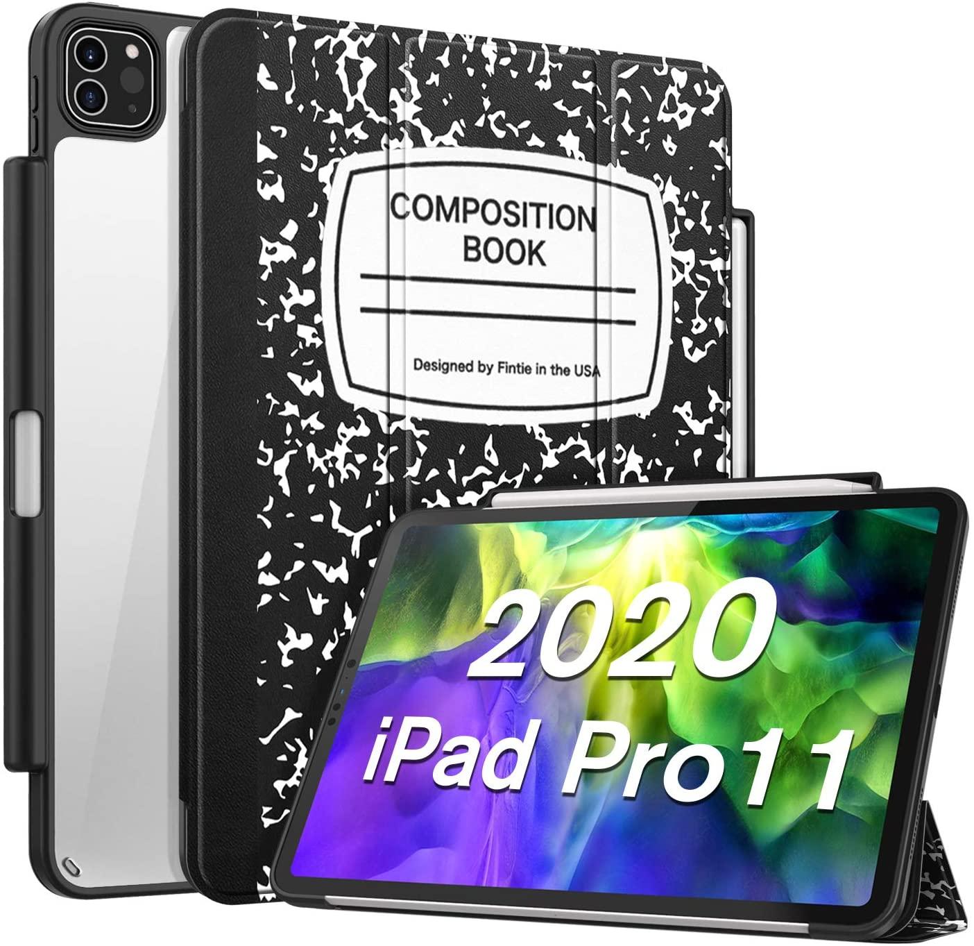아이패드 프로 11인치 컴포지션북 케이스 애플펜슬홀더 애플펜슬 2세대 충전 모드 지원, 1. 2020 컴포지션Black