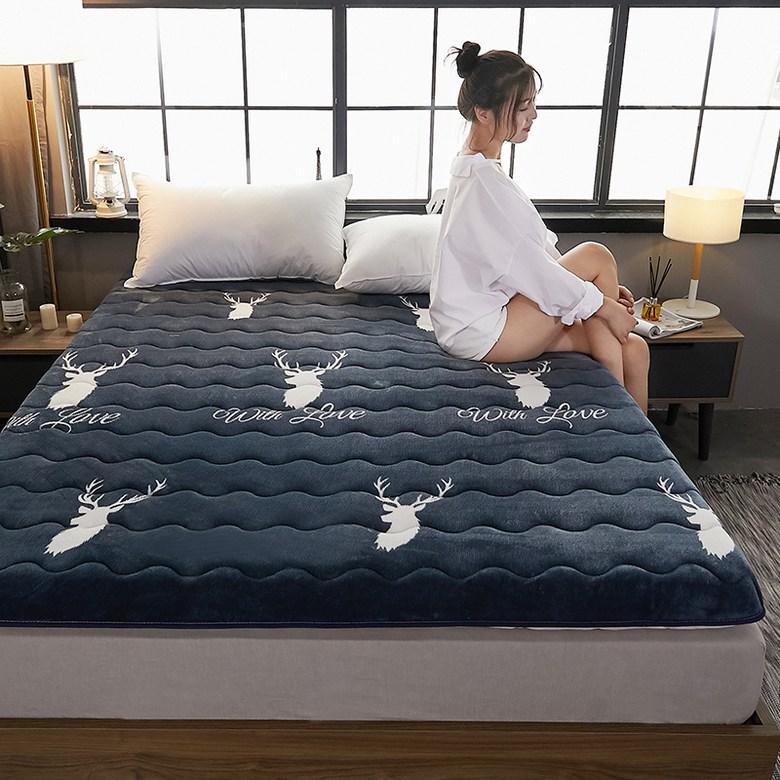 토퍼 템퍼 매트리스 침구 기타 겨울 침대 가정용 쿠션, AN_90 x 200 cm