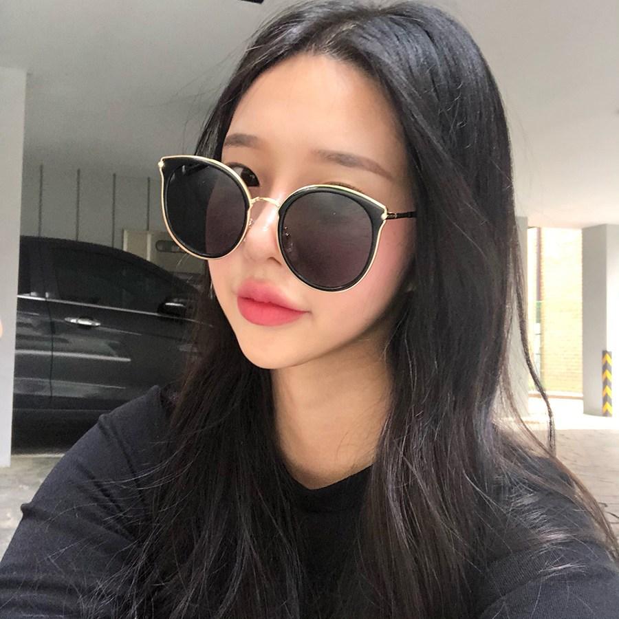 VANANA2 남여공용 오버사이즈 베이직 기본 선글라스