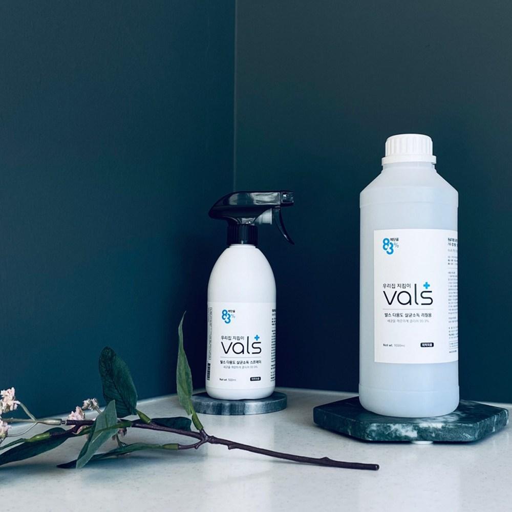 발스 다용도 뿌리는 살균소독제 스프레이 코로나 고수준 소독용 에탄올 83% 바이러스 방역 - 500ml 1L 4L 18L, 발스 다용도 살균소독 스프레이 500ml 본품