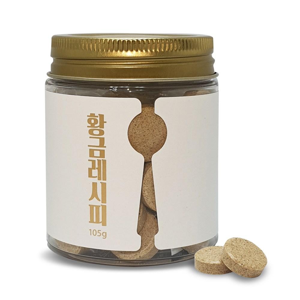 황금레시피 35정 육수맛의 황금비율 한알로 완성 자연조미료, 1병