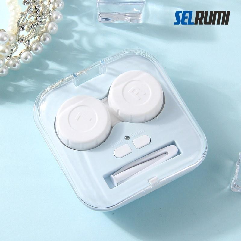 셀루미 초음파 렌즈세척기 SEL-ULC350A 렌즈클리너, 1개, 블루