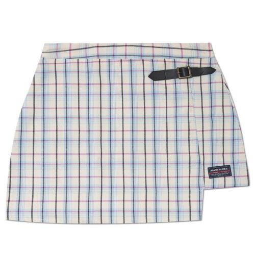 MARYJAMES (W) Gilt Skirt - Sky Blue