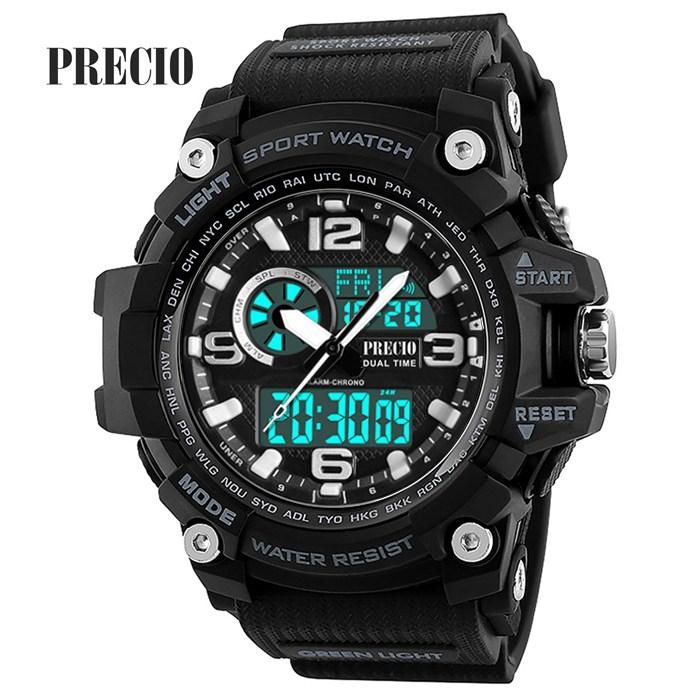 프레시오 군대시계 남성용전자손목시계N83-BG