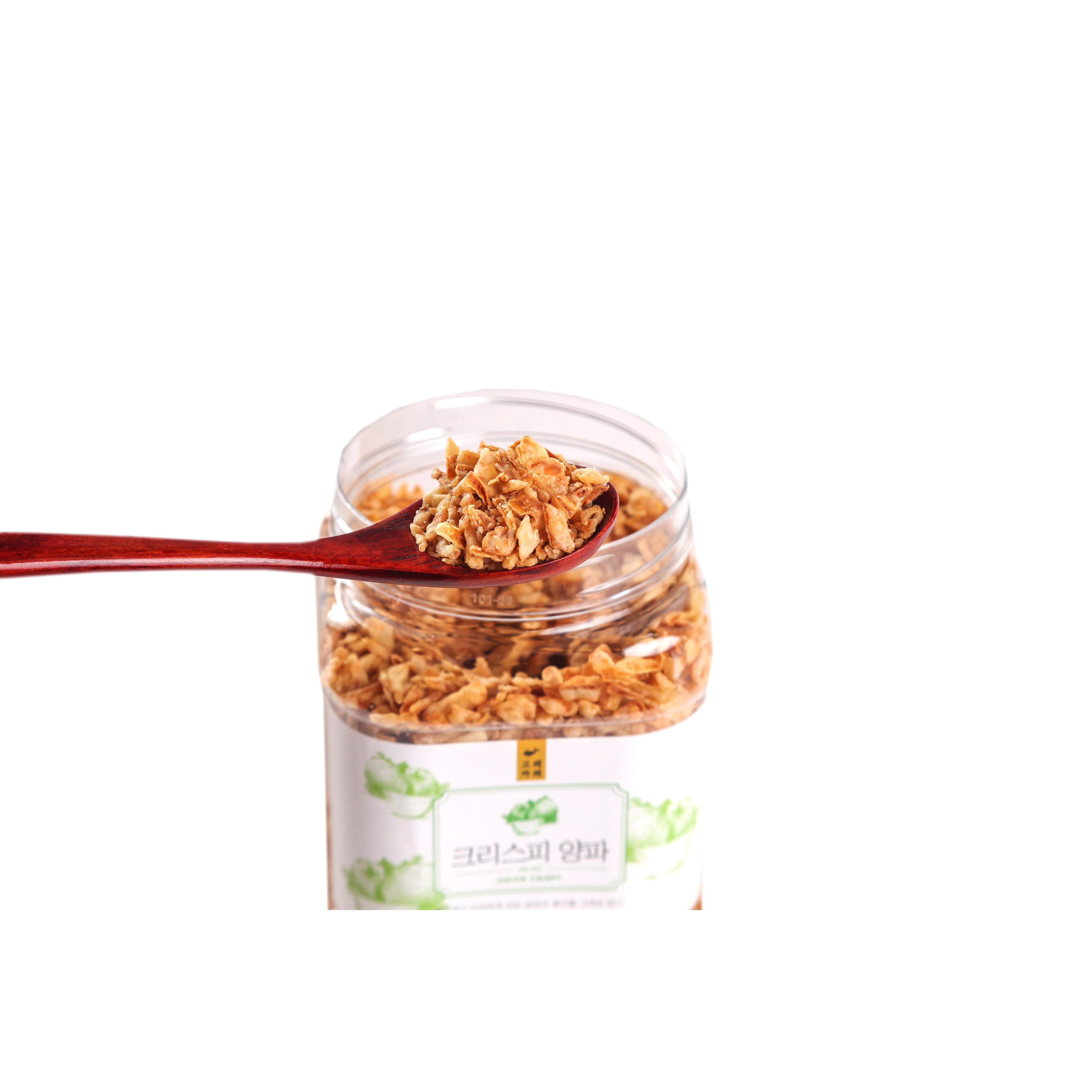 카레전문점 주문생산 양파후레이크 크리스피어니언 튀긴양파 크리스피양파 1개 500g (양파 80% 함유)