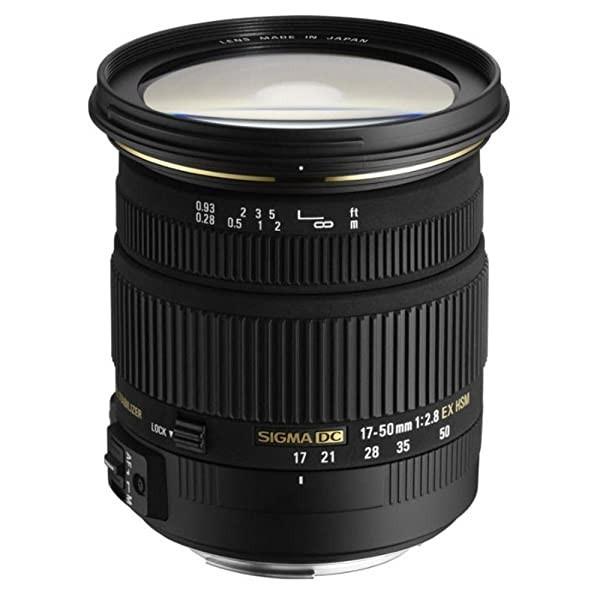 Sigma 17-50mm F2.8 EX DC HSM Lens (77mm Filter Thread), Sony A_Single
