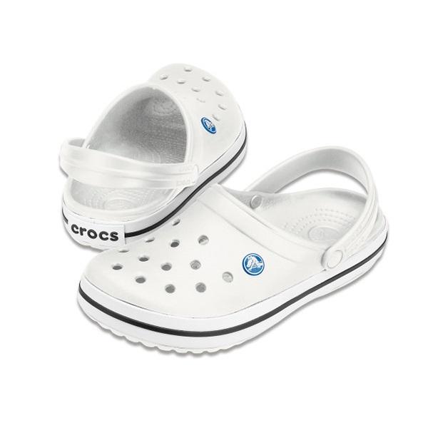 [CROCS] 크록스 크록밴드 클로그 공용 샌들 11016 화이트