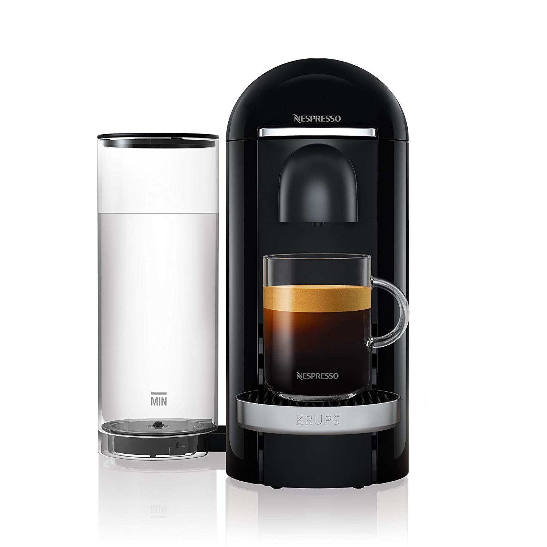 네스프레소 버츄오 플러스 캡슐 커피머신 Krups XN9031, XN9008(블랙)