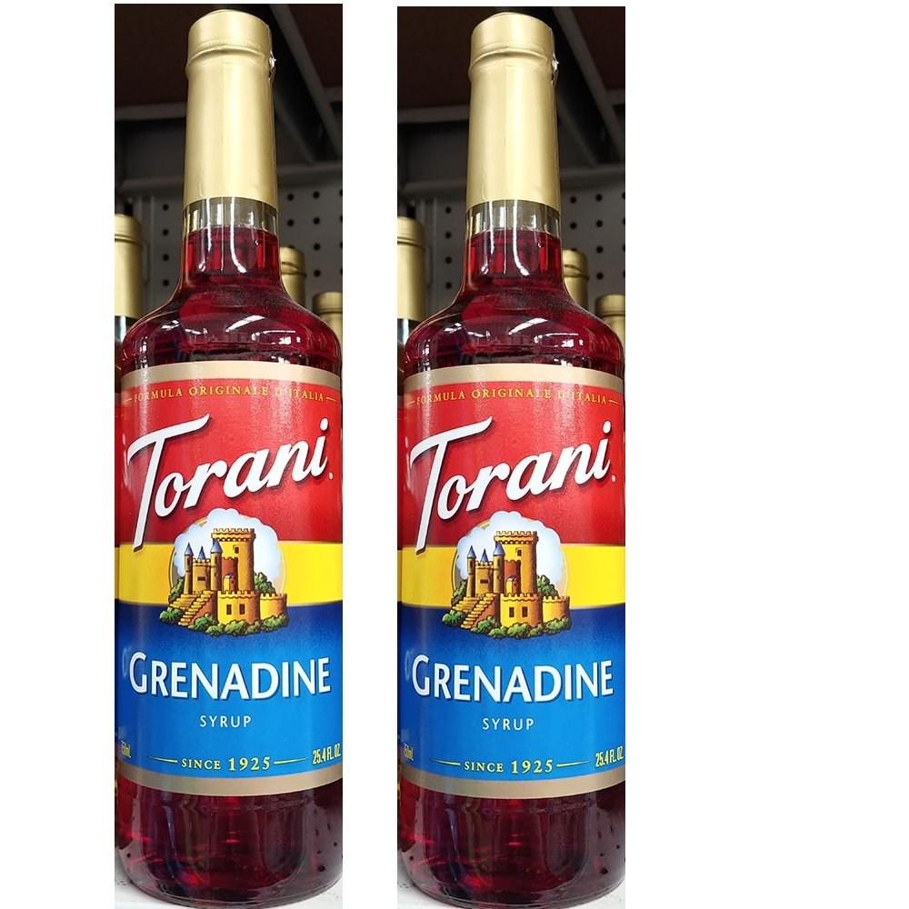 Torani Grenadine Syrup 토라니 그레나딘 시럽 750ml 2개, 1개