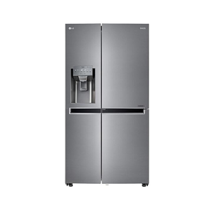 [신세계TV쇼핑][LG] 디오스 얼음정수기 양문형 냉장고 804L J813S35E, 단일상품