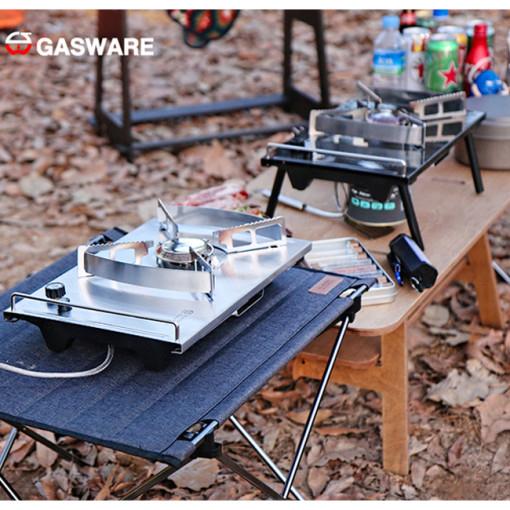 가스콤 가스웨어 원버너 파워플레이트 NO5 가스스토브 전용가방포함 캠핑가스버너