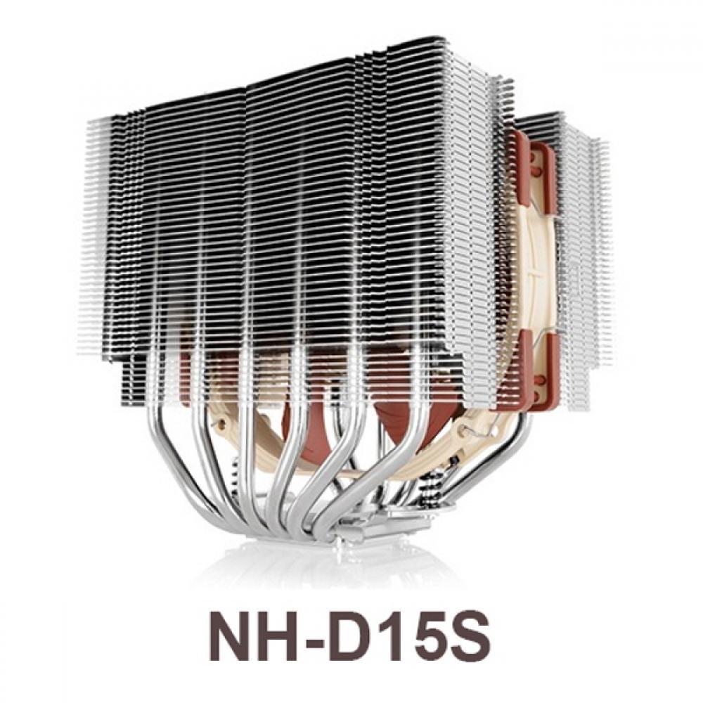 [C.H] NOCTUA NH-D15S 녹투아 쿨링팬 140mm NOCTUA 타워형 SSO2 LGA115x CPU쿨러 팬쿨러 LGA2011 25T 4핀 LGA2011-V3, 단일상품