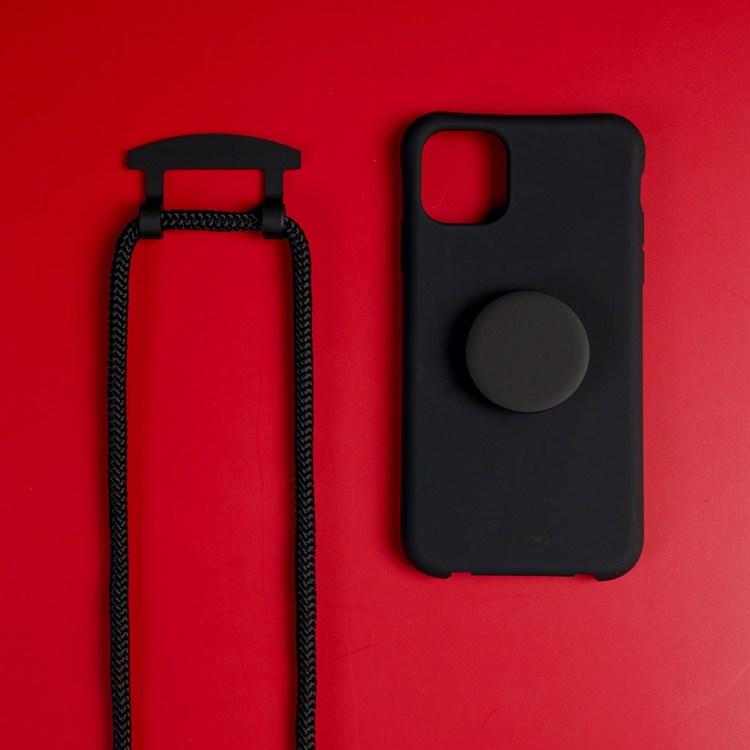 탄탄 목걸이 실리콘 케이스 스트랩 노트 20 울트라 9 아이폰11 xr xs 프로 7 8 플러스 갤럭시 S20 10 그립톡 휴대폰