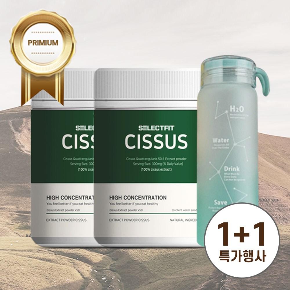 셀렉트핏 시서스가루 50배 FDA승인 300g 고농축 추출물 시저스, 1개, 셀렉트핏 300g 1+1