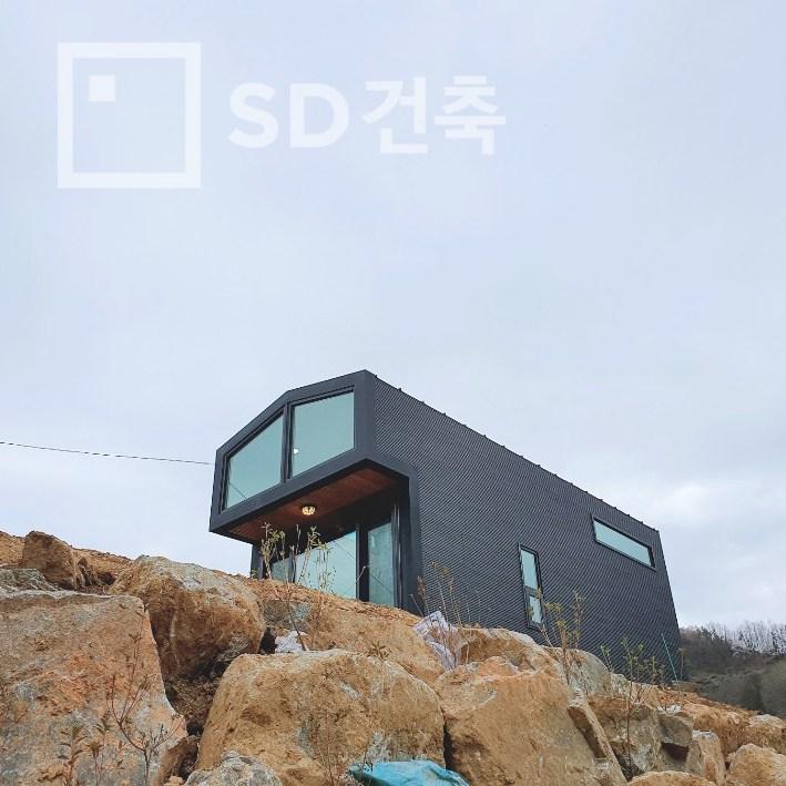 [SD건축] 이동식주택 소형주택 목조주택 모듈러하우스 복층형목조주택 #미목연(복층형) 기본에충실하다-5-5507219295