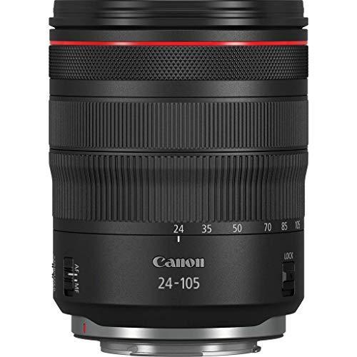 Canon 중 망원 줌 렌즈 RF24-105mm F4L IS USM EOSR 대응 길이 107.3mm 블랙 RF24-10540LIS, 상세참조인용