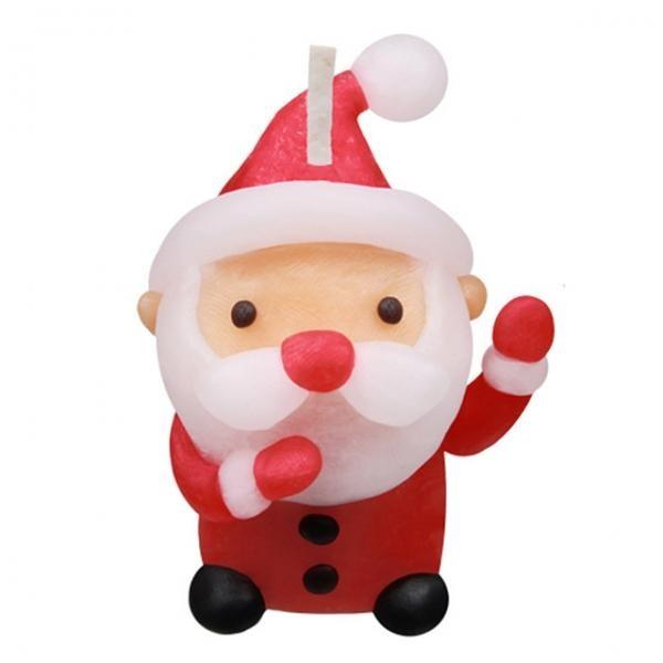 (만들기재료)깜찍나라 산타클로스 양초, 상세페이지 참조