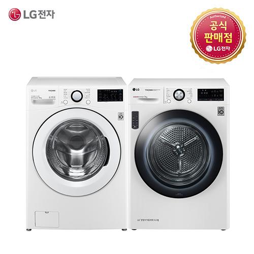 LG 트롬 F19WDBU-9V(F19WDBU+RH9WV) 세탁기 건조기세트, F19WDBU-9V