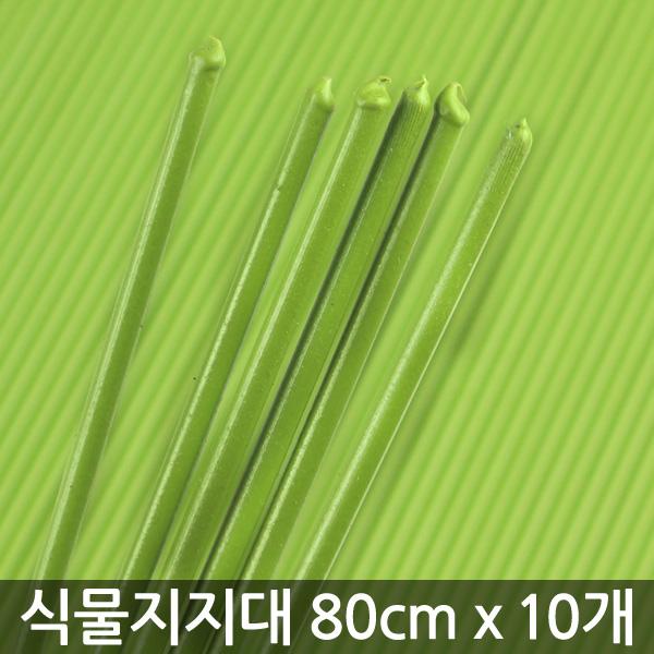 식물지지대 80cm - 10개 / 지지대 화분 지지대 식물 지주대 지주대 꽃지지대 식물고정대, 03_한성_식물지지대80cm(10개)
